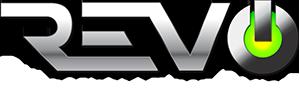 REVO logo.