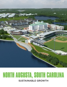 North Augusta, South Carolina brochure cover.