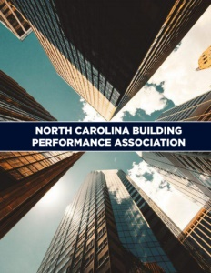 North Carolina Building Performance Association brochure cover.