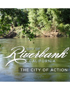 Riverbank, California brochure cover.