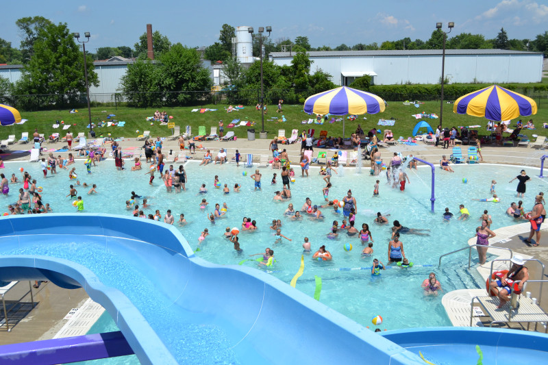 Shelbyville, Indiana water park.