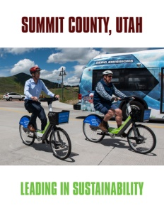 Summit County, Utah brochure cover.