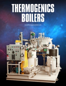 Thermogenics Boilers brochure cover.