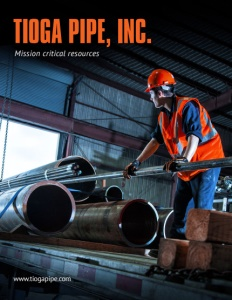 Tioga Pipe Inc. brochure cover.