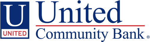 United Community Bank logo. UCBI Bank.
