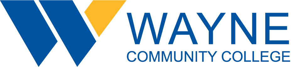 Wayne Community College logo.
