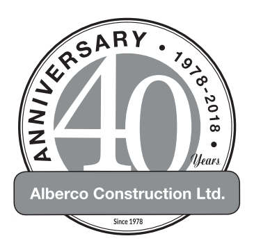 Alberco Construction Ltd. logo.