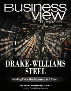 April 2019 issue cover for Business View Magazine