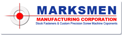 Marksmen Manufacturing Corporation logo.