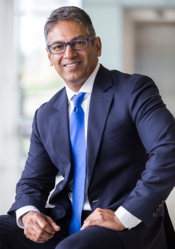 The Professional Convention Management Association President and CEO Sherrif Karamat.