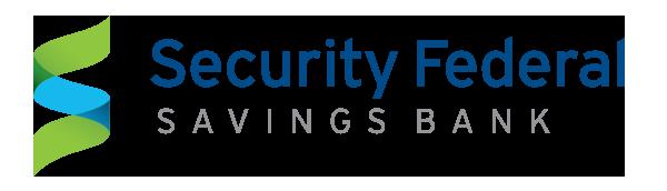 Security Federal Savings Bank logo.