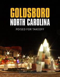 Goldsboro, North Carolina brochure cover. Click to view.