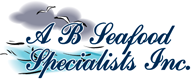 A B Seafood Specialists Inc. logo.