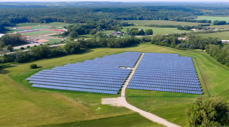 Houghton College Solar in Allegany County, NY