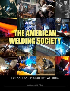 The American Welding Society brochure cover. Click to view.