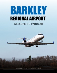 Barkley Regional Airport brochure cover.
