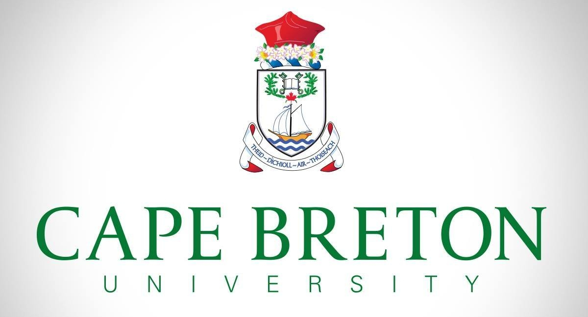 Cape Breton University logo.
