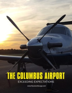 Columbus Airport brochure cover. Click to view.