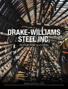 Drake-Williams Steel Inc. brochure cover.