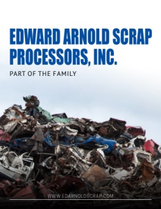 Edward Arnold Scrap Processors brochure cover.