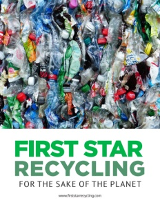 First Star Recycling brochure cover. Click to view.