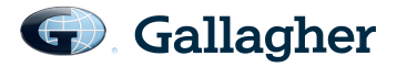 Gallagher logo.