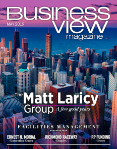 May 2019 issue cover for Business View Magazine