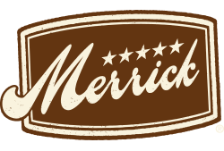 Merrick Pet Care logo.