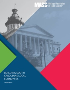 Municipal Association of South Carolina brochure cover. Click to view.