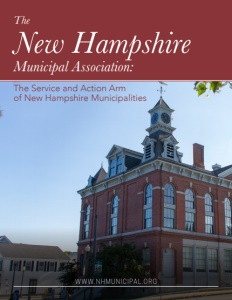 New Hampshire Municipal Association brochure cover.