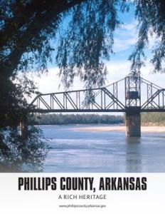 Phillips County, Arkansas brochure cover.
