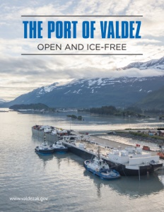 Port of Valdez brochure cover. Click to view.