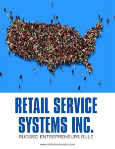 Retail Service Systems brochure cover. Click to view.