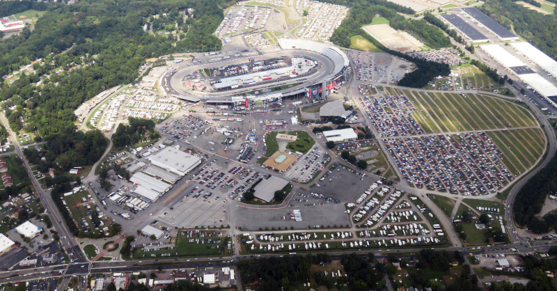 Richmond Raceway Complex aerial photo.
