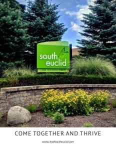 South Euclid, Ohio brochure cover.
