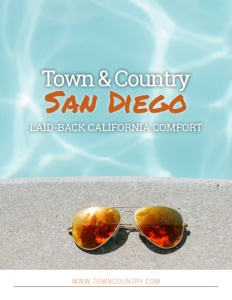 Town & Country San Diego brochure cover.