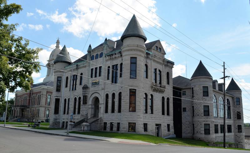 Wabash, Indiana historic building.