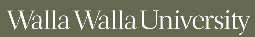 Walla Walla University Logo.