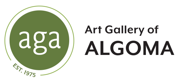 art gallery of algoma logo.