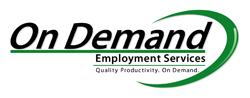 On Demand Employment Services logo.