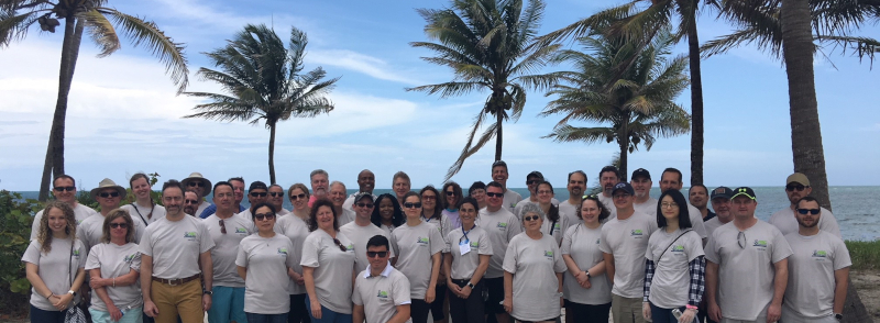 The Adhesive and Sealant Council group photo from their ASC Gives Back event.