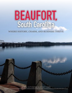 Beaufort, South Carolina brochure cover.