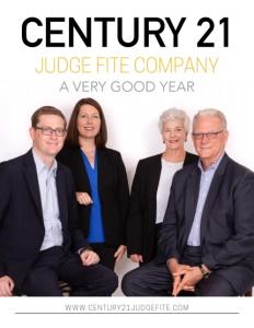 Century 21 Judge Fite Company brochure cover.
