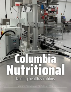 Columbia Nutritional brochure cover.
