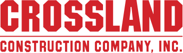 Crossland Construction Company logo.