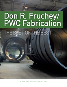 Don R. Fruchey / PWC Fabrication brochure cover.