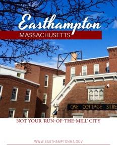 Easthampton, Massachusetts brochure cover.