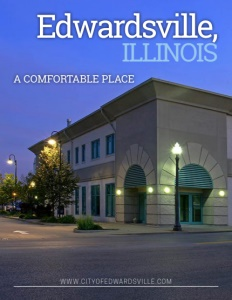 Edwardsville, Illinois brochure cover.