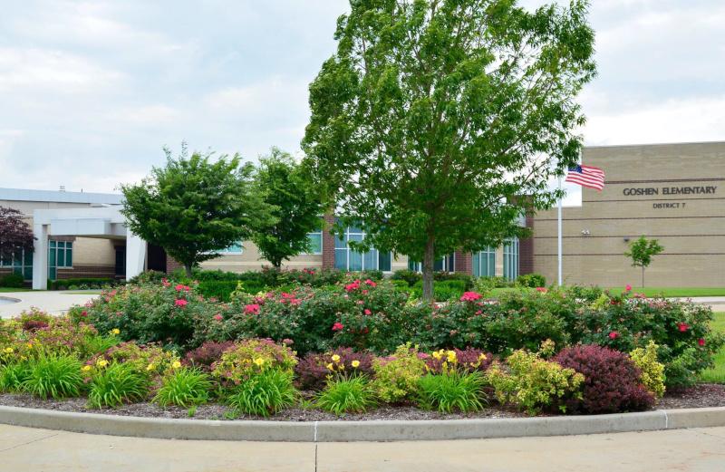 Edwardsville, Illinois Goshen Elementary school.