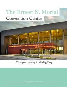 Ernest N. Morial Convention Center brochure cover.